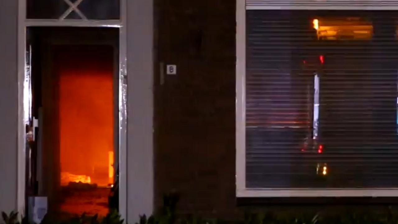 Brand verwoest rijtjeswoning in Schijndel