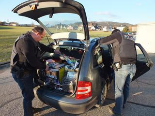 Duitse politie spreekt van '122 kilo springstof'