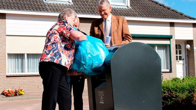 Nieuwe manier van afval inzamelen in Moerdijk