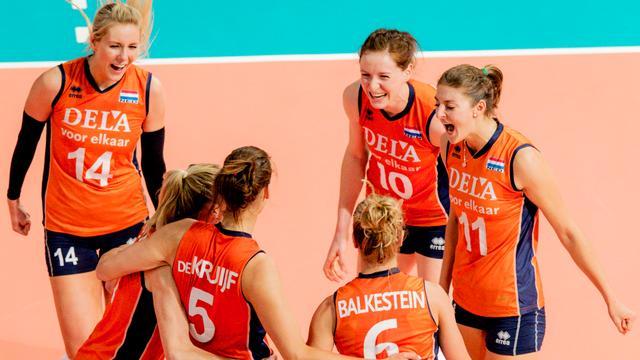 Volleybalsters verslaan België in aanloop naar olympisch kwalificatietoernooi