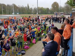 Startschot werd door sportwethouder Paul Dirkse gegeven