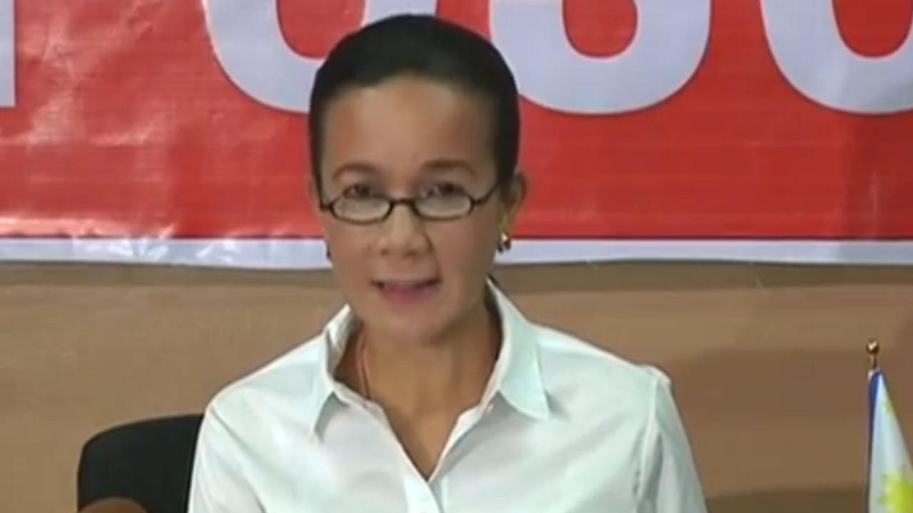 Filipijnse presidentskandidaat Grace Poe erkend verlies
