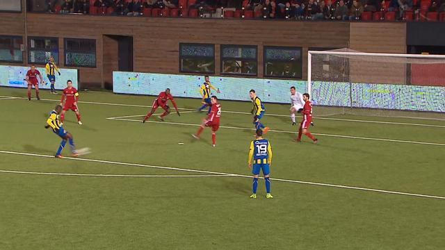 Samenvatting Almere City-FC Oss (3-3)