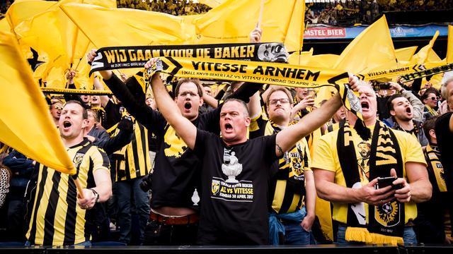 Vitesse uit protest met slechts enkele fans bij duel om Johan Cruijff Schaal