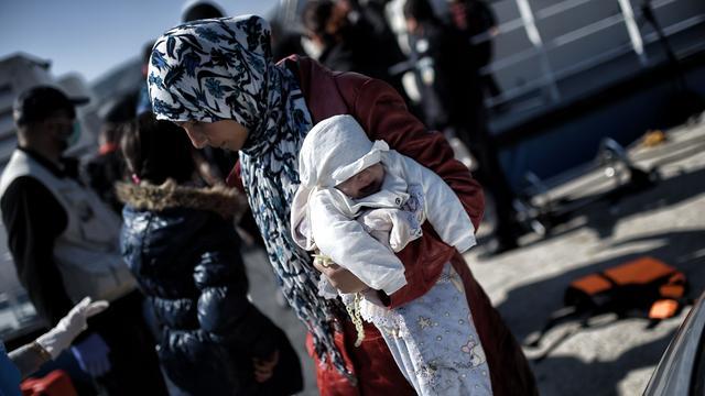 Sterke toestroom vluchtelingen Griekenland