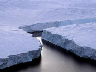 Het gaat om ongeveer 10 procent van ijsvlakte Larsen C