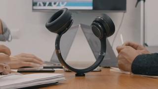 Draadloze koptelefoon eenvoudig om te vormen tot speaker