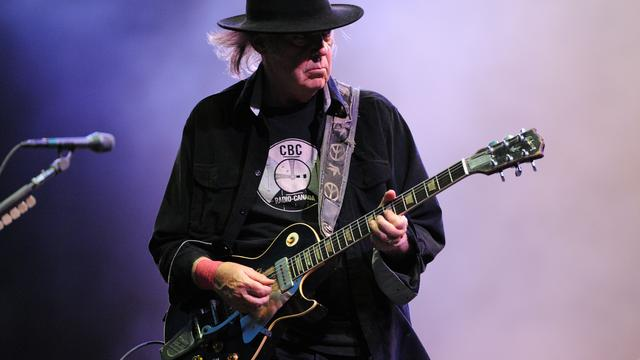 'Neil Young speelde langste solo-optreden ooit in Amsterdam'
