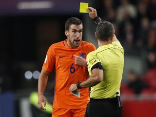 'Volgens hem had de verdediger de bal niet met de hand geraakt'