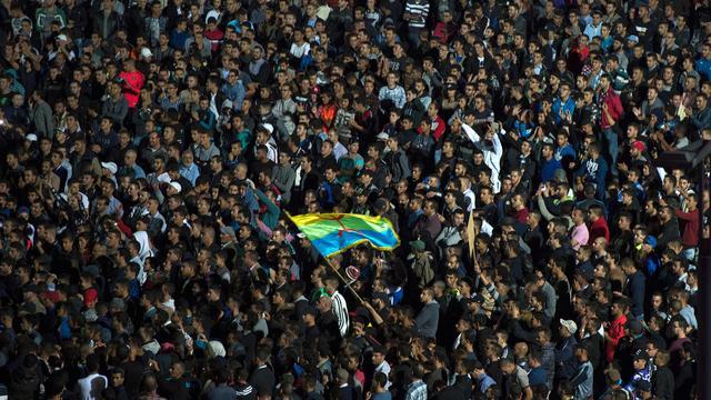 Duizenden mensen protesteren in Marokko na dood visverkoper