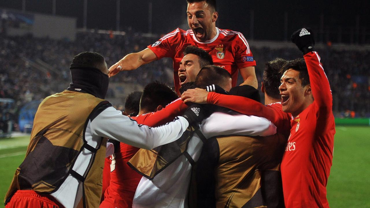 Zenit Sint-Petersburg-Benfica (1-2)