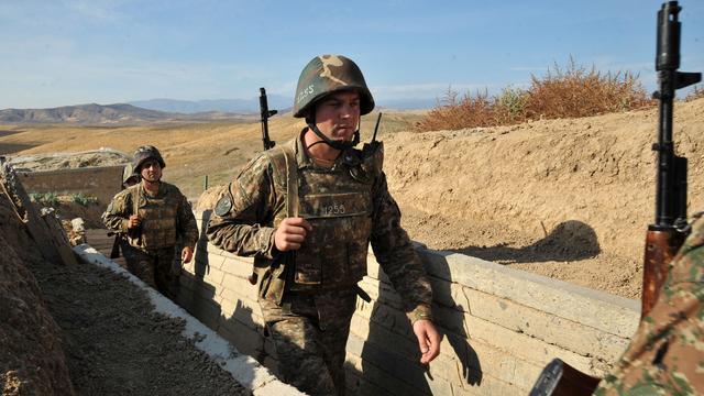 'Akkoord over staakt-het-vuren in Armeense enclave Nagorno-Karabach'