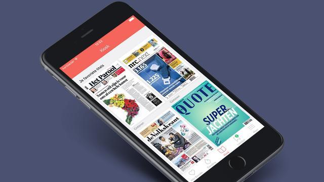 Blendle brengt sterk uitgebreide app uit voor iOS