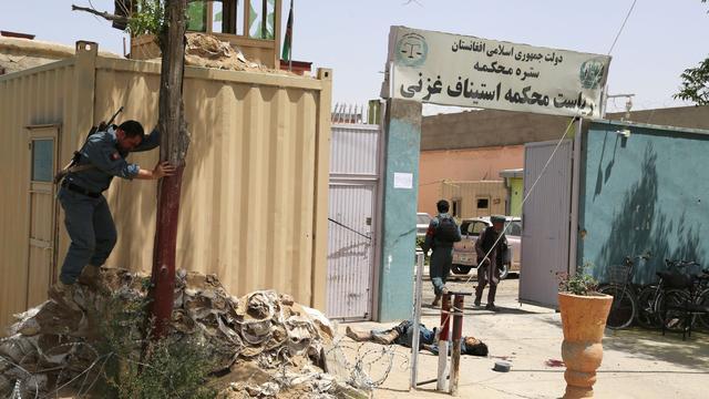 Tien doden bij bestorming Afghaanse rechtbank door Taliban