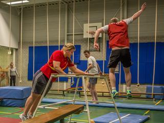 Primeur bij gymnastiekvereniging Spido