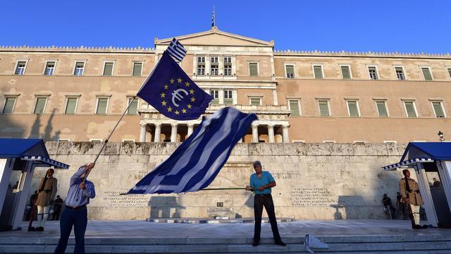 Eurolanden bereiken akkoord over verlichting schuld Griekenland