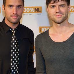 Nick & Simon treden op tijdens Kinderprinsengrachtconcert