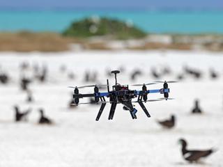Er zijn vorig jaar zeventig vergunningen voor minidrones verleend