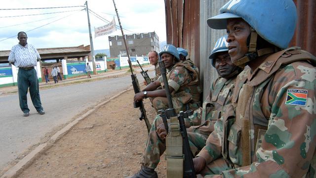 Politie Congo gebruikt traangas bij demonstratie