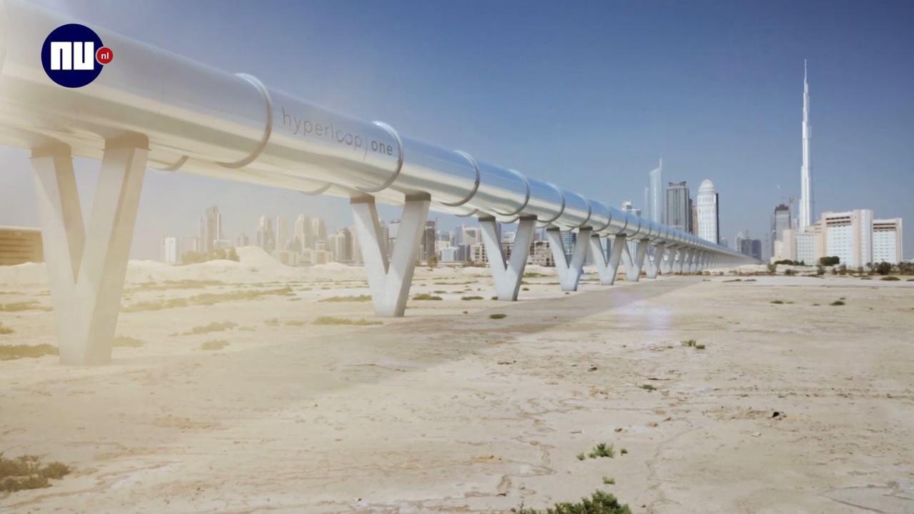 Zo ziet de toekomst van vervoer er volgens Hyperloop uit