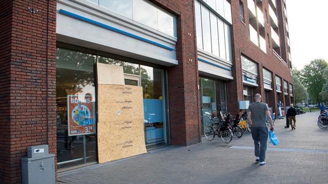 Albert Heijn t' Goylaan doelwit plofkraak