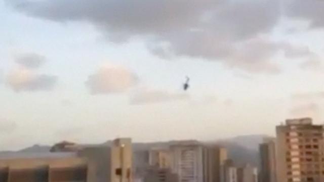 Schoten vanuit helikopter op Venezolaans Hooggerechtshof