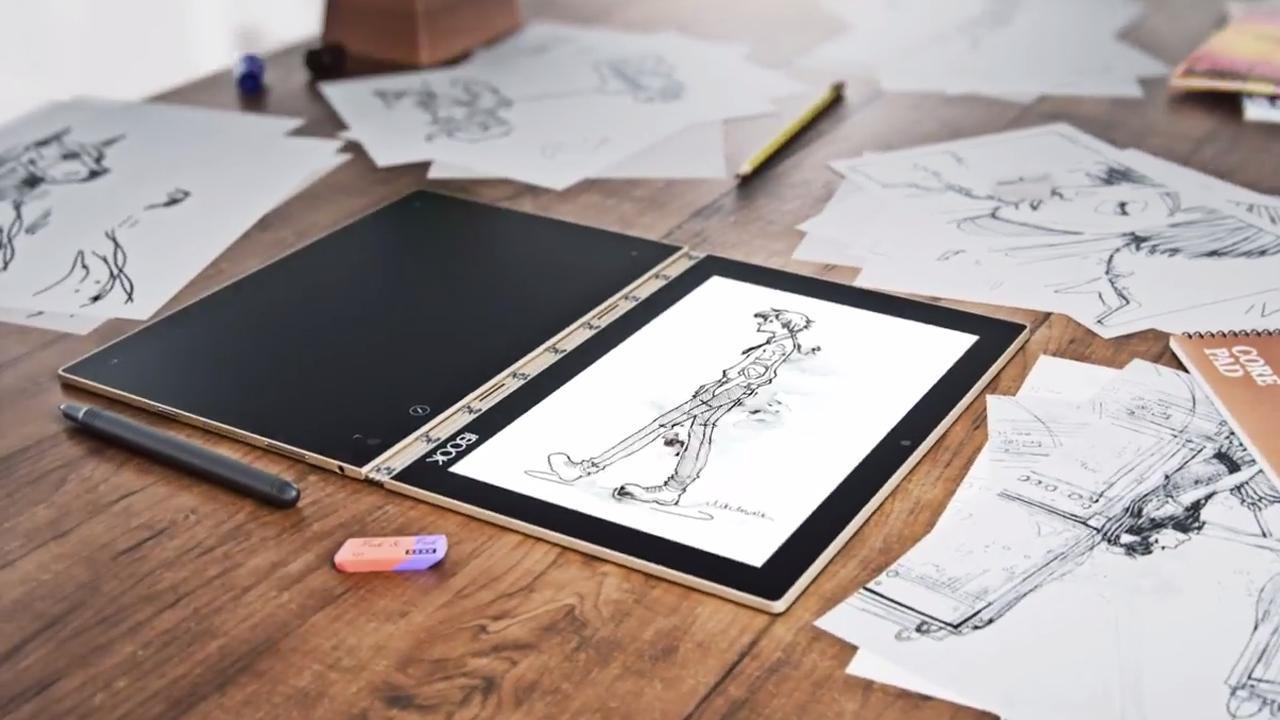 Nieuwe Lenovo-tablet heeft touchvlak dat ook toetsenbord is