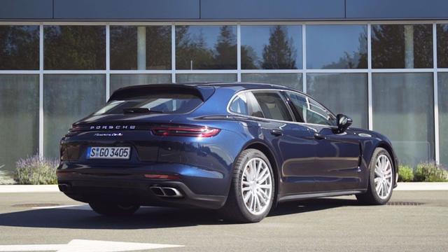 Eerste Rijtest: Een stationcar van Porsche, de Panamera Sport Turismo