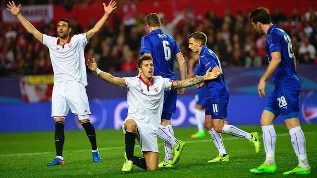 Samenvatting Sevilla-Leicester City (2-1)
