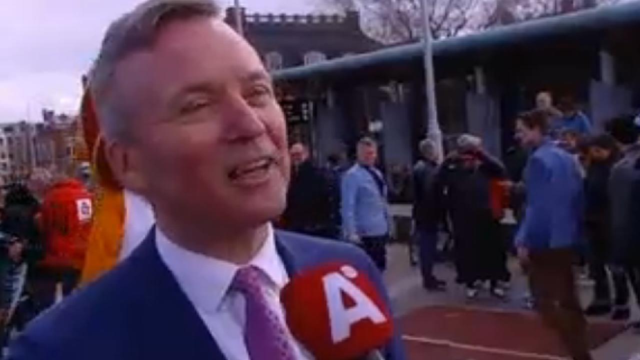 Sportwethouder Van der Burg