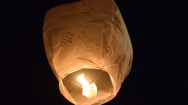 Veiligheidsgevaar voor buitenlandse wensballonnen