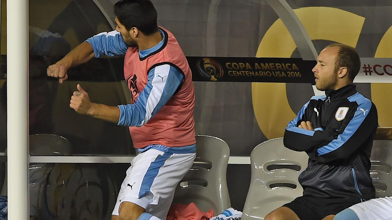 Suarez woedend na uitblijven invalbeurt bij Uruguay