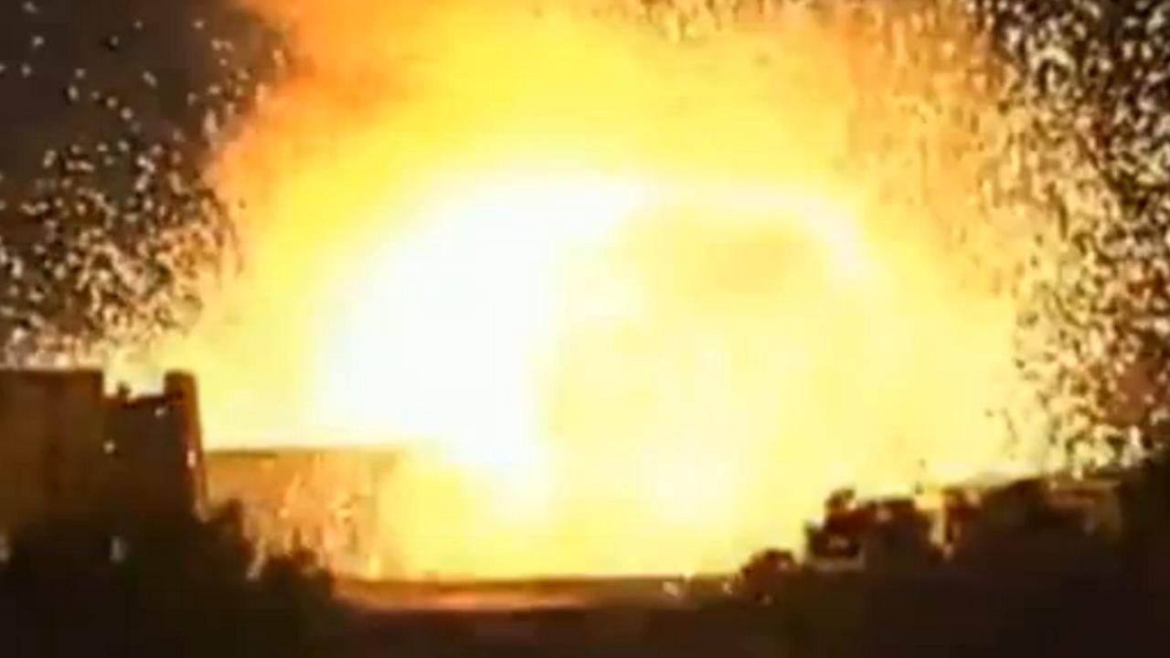 Parlementsgebouw Turkije gebombardeerd