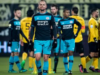 Derde doelpuntloze gelijkspel voor landskampioen dit seizoen in Eredivisie