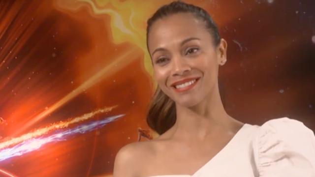 Zoe Saldana wil alien meenemen op vakantie naar Caraïben