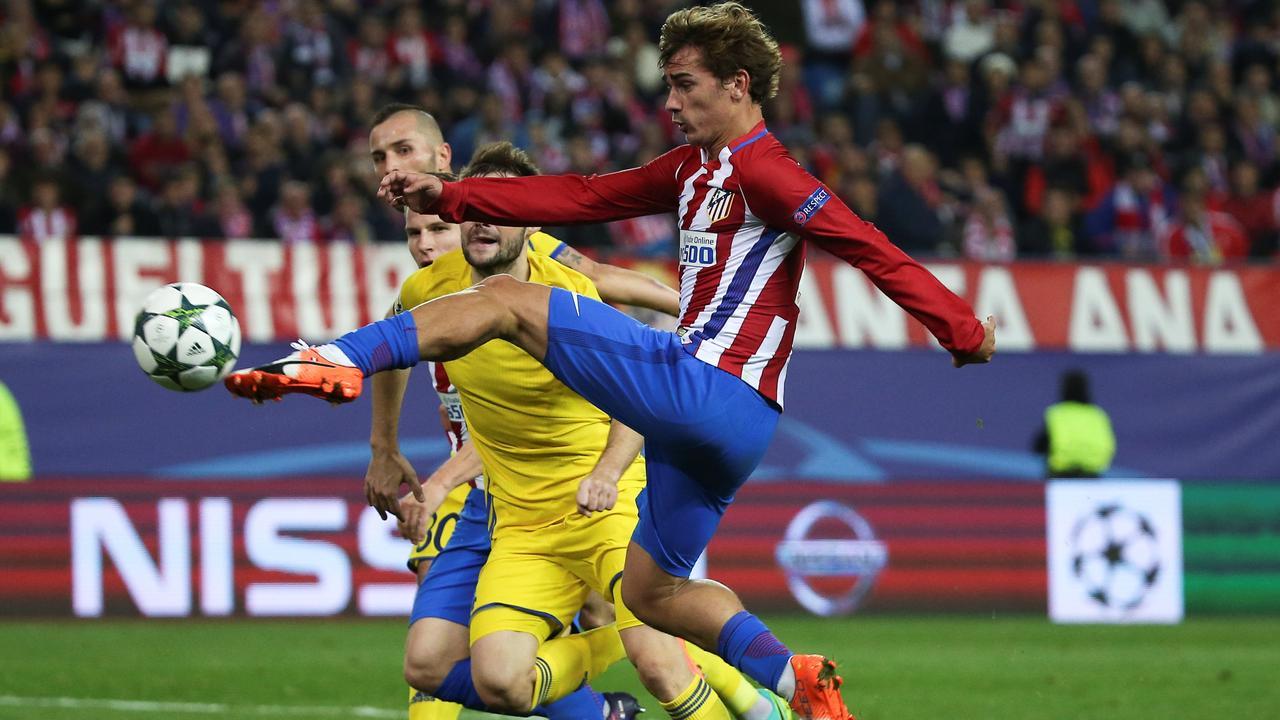 Samenvatting Atletico Madrid-FK Rostov