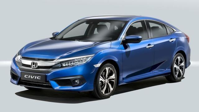 Dit is de Honda Civic sedan