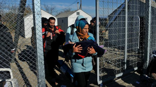 Griekenland vreest dat vluchtelingenstroom ingesloten raakt