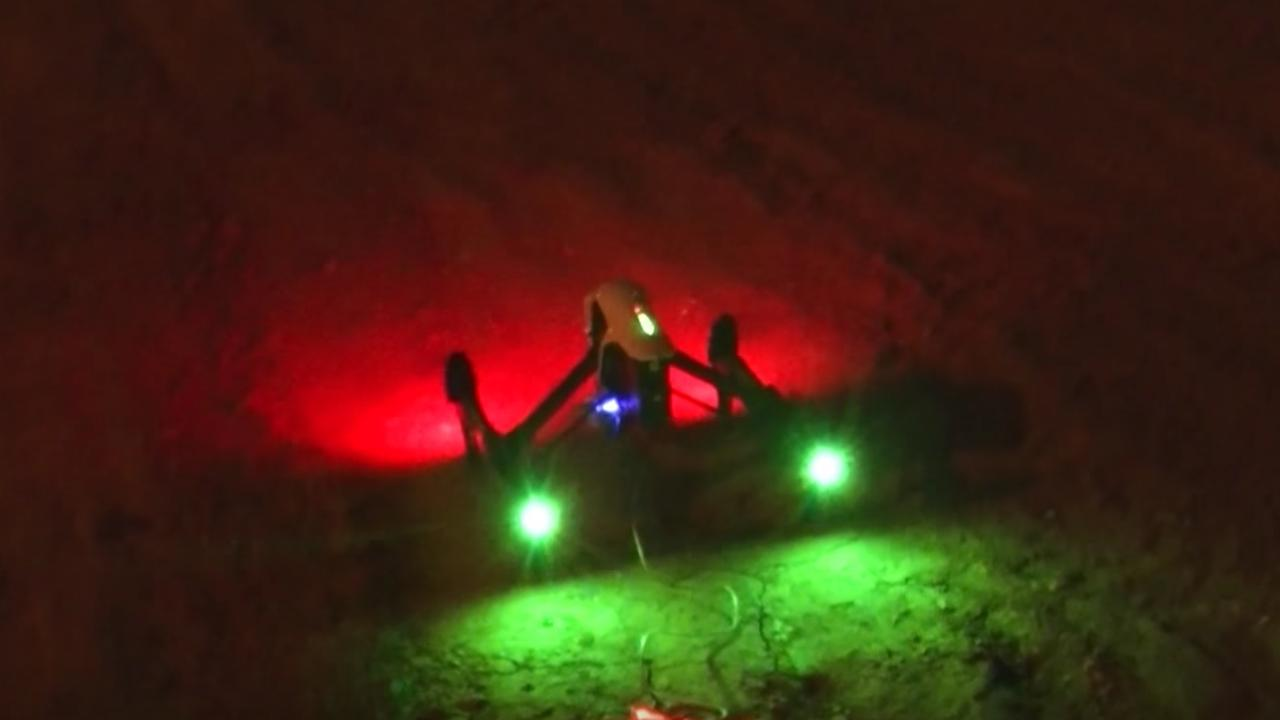 Onderzoekers hacken slimme lampen met drone