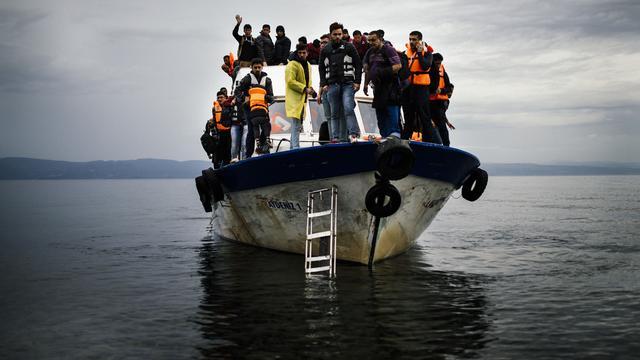Marinemissie NAVO tegen mensensmokkel op Egeïsche Zee