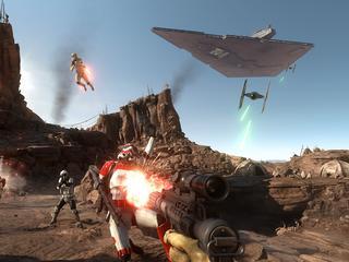Na eerste genot om Star Wars-universum blijft doorsnee shooter over