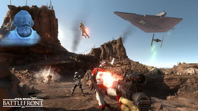 Vervolg op Star Wars Battlefront verschijnt in 2017