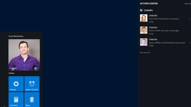 Microsoft brengt Windows 10-app van LinkedIn uit