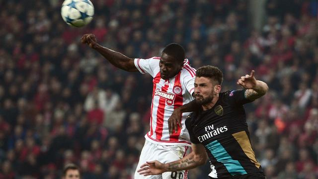 Olympiakos-Arsenal (0-3)