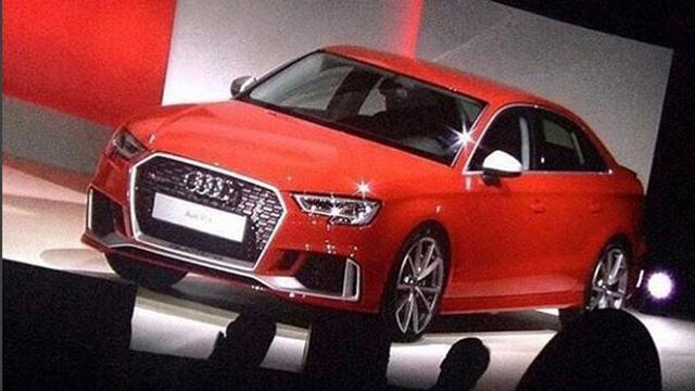 Audi RS3 Sedan komt
