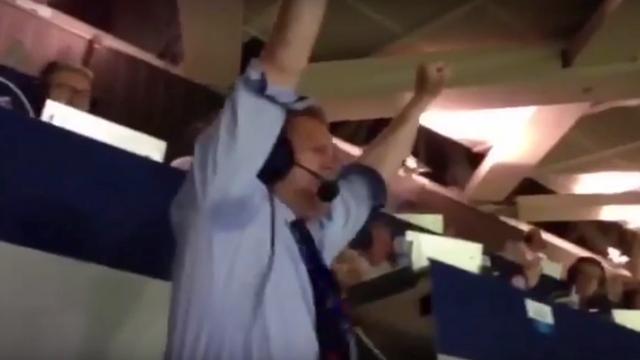 IJslandse commentator opnieuw uitzinnig na overwinning op Engeland