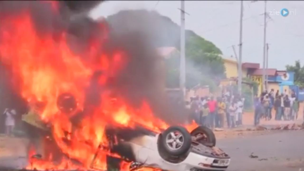 Onrust in Burundi