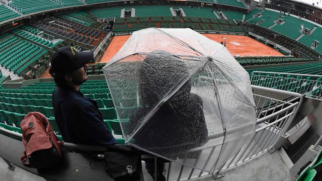 Bertens maandag niet in actie op Roland Garros door regen
