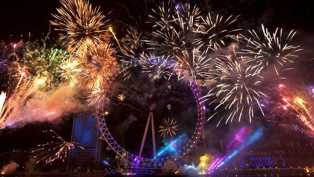 Londen is populairste bestemming voor jaarwisseling