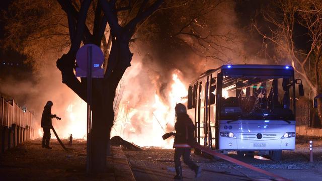 Zeker 28 doden bij grote explosie in Turkse hoofdstad Ankara